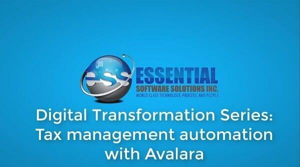 Digital Transformation Series : Automated Tax Management and Remittance with Avalara