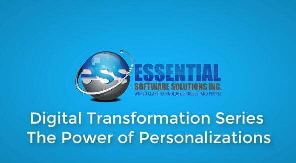 Digital Transformation Series: The Power of Personalization in Syteline